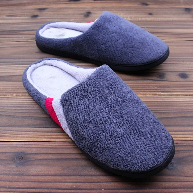 New Arrival Winter Home Slippers Coral Velvet Women's Shoes Indoor Chaussons Cotton Pantoufle Femme Ciabatte