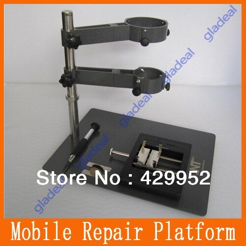 NT F-204 new Mobile Phone Repair Platform /Hot Air Gun Bracket /Precision Multifunction Fixture /BGA Rework Station