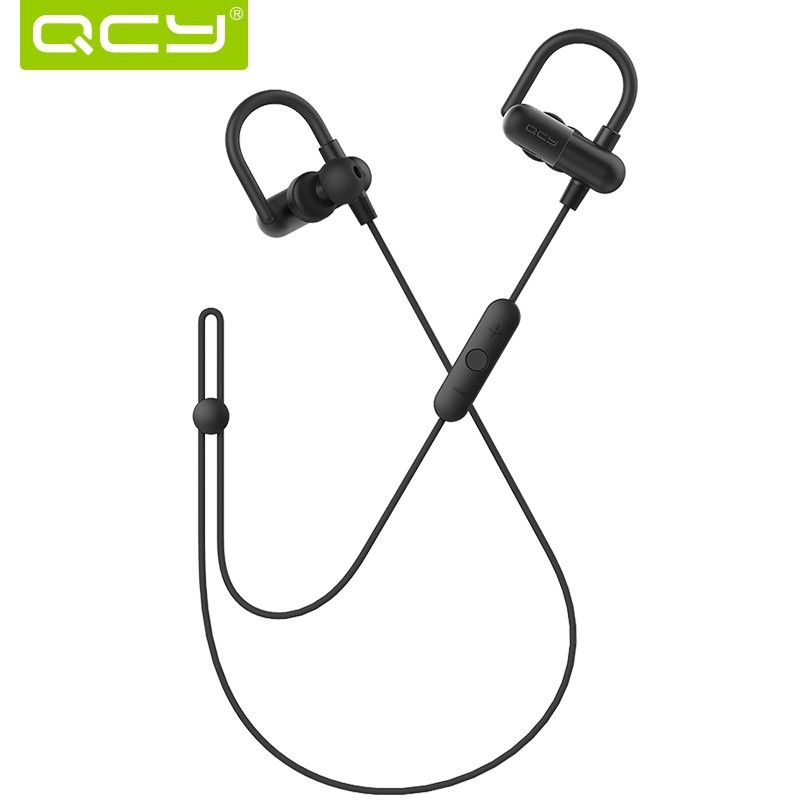 2017 QCY QY11 wireless sports headphones ear hook bluetooth running earphone aptx hifi stereo headset gamer with microphone