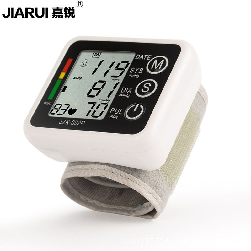 Sphygmomanometer Blood Pressure Monitor Portable Automatic Pulse Oximeter Fully Automatic Digital Wrist Blood Pressure