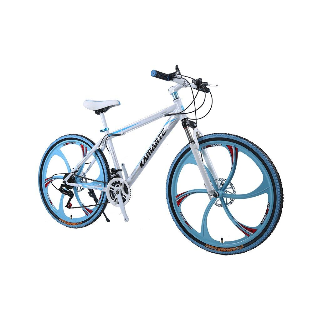 Russian warehouse and Wholesale 26 inch and 24 inch 21 speed integrated wheel mountain bike Bicycle downhill Road