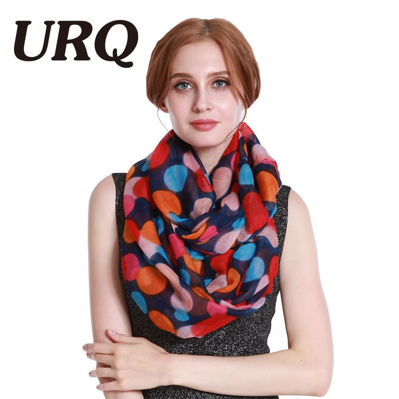 lady dot Tube Scarves Warm For Women Fahion Design Plaid lady Ring Scarfs Infinity Scarves Tube 2017 New 567