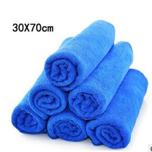 universal 30*70CM Microfiber car cleaning cloth wash towel products dust tools car washer auto supplies car accessories