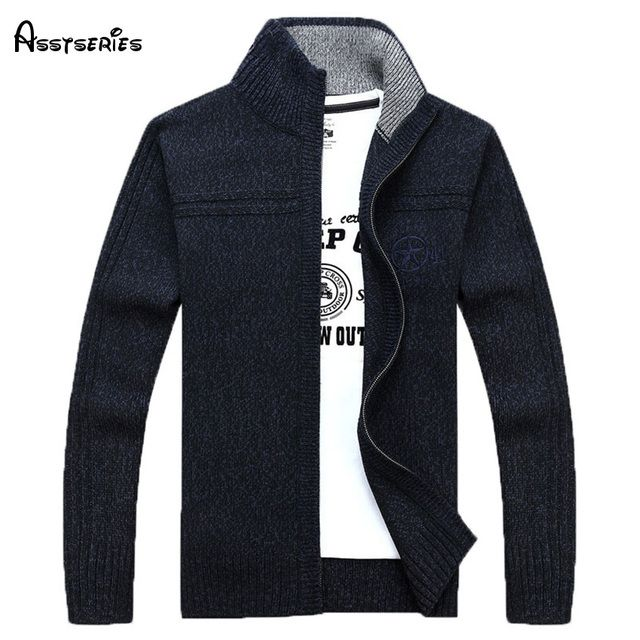 New 2018 Autumn Men's Fashion brand Sweaters men Business Casual sweaters men spring outwear cardigan coat   88