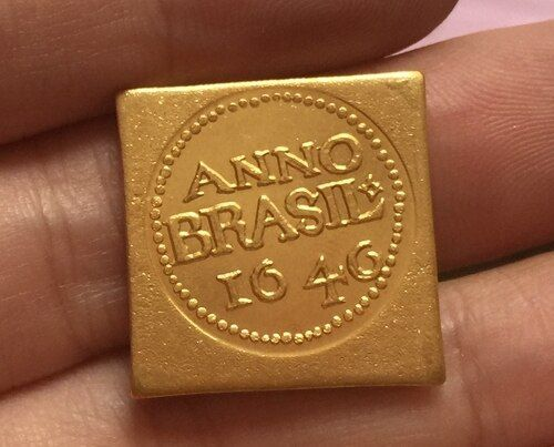 1646 Brazil 12 Florins coins COPY FREE SHIPPING 19mm