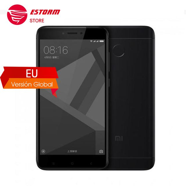 Global Version Xiaomi Redmi 4X Smartphone  3GB RAM 32GB Snapdragon 435 Octa Core CPU Adreno 505 GPU 4100mAh  13MP Camera B20 800