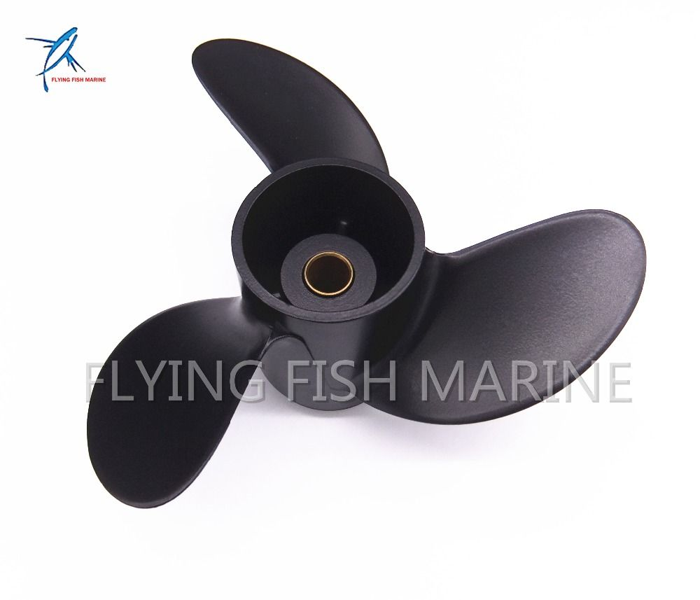 7.8x8 Boat Engine Propeller for Mercury 2-Stroke 5HP / Tohatsu 4HP 5HP 6HP Outboard Motor