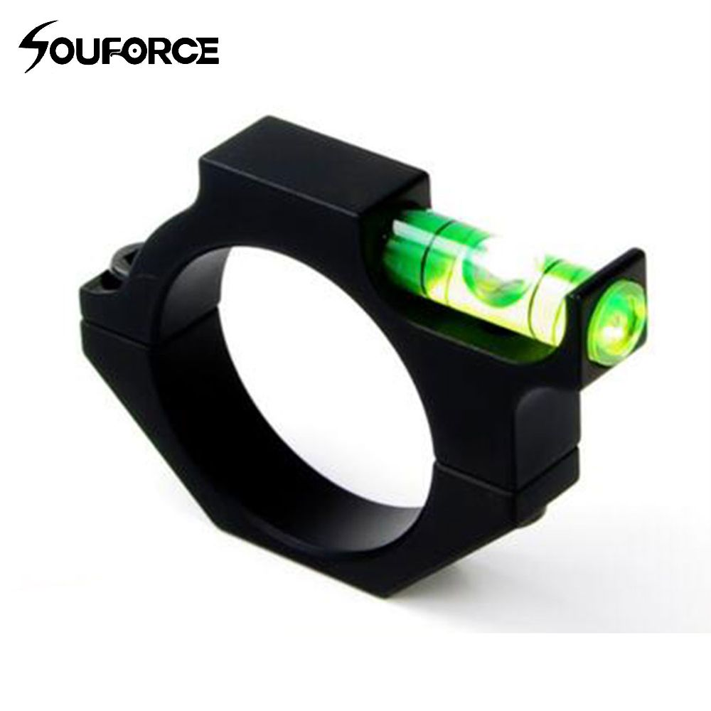 Tactical Rifle/Airgun Scope Alloy Spirit Level Bubble for 30mm Mounts Bolt On Hunting Gun Scope Mounts On Outdoor  Accessories