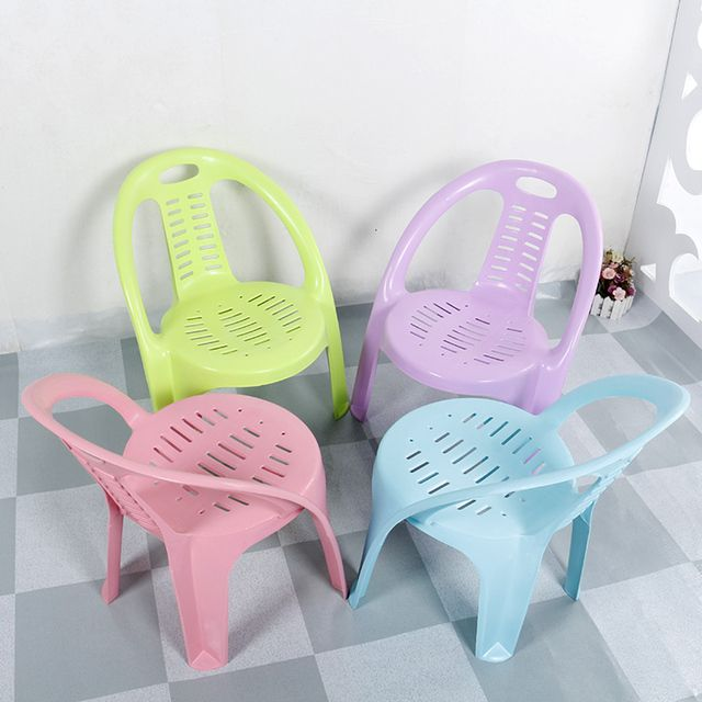 Kindergarten children thickening chair plastic stool chairs child tables desks and Course
