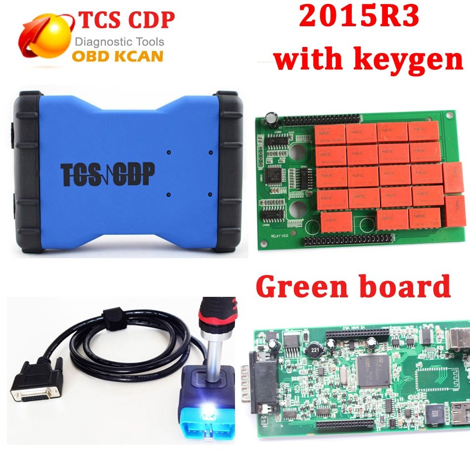 New VCI V2015.R3 Free Active TCS CDP Pro PLUS VCI TCS CDP Diagnostic Tool Tcs Scanner As CDP MVDIAG without bluetooth tcs cdp