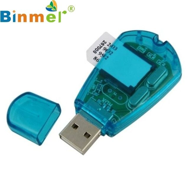 USB Sim Card Reader Writer Cellphone SMS Backup Adaptor LJJ1206