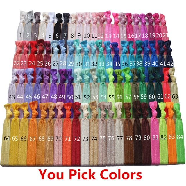 Hair Elastic Hair tie Ponytail tie FOE Hair Band Wrist strap Elastic bands Super fashion Hair accessories