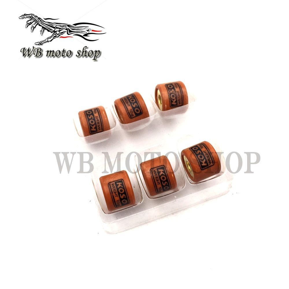 MOFO koso High Performance Variator Slider Copper Rollers Clutch 4g-11g For GY6 50 139QMB Scooter QJ Keeway Honda Dio ZX 50cc