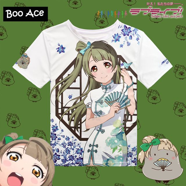 Hot!!! Japan Anime T-shirt Love Live Printing  Summer Women T-shirt Men T-shirt Asian Size S-XXL