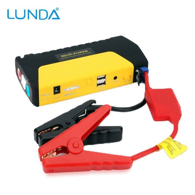 LUNDA 2USB High power Car batteres Car jump starter  Car Safety  Mobile Portable Auto emergency Phone power