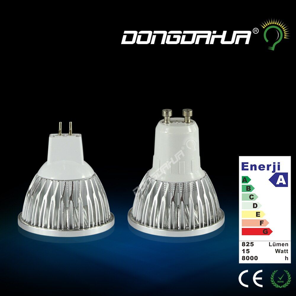 New Style LED Lamp MR16 GU10 COB Light 3W 6W LED Bulbs Spotlight Bulb High Power for Bedroom Foyer.85V-265V