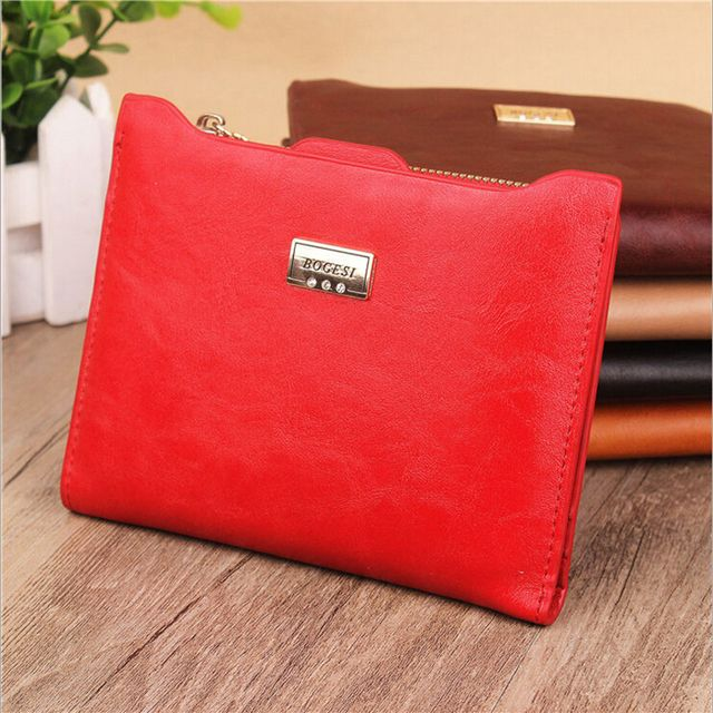 2016 New Fashion Women's Wallets Ladies Coin Purses Wallet  Female Cards Holders Candy Colors Coin Purse For Girls ,Lady , Women