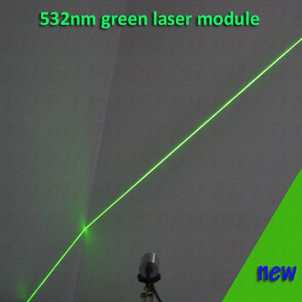 200mw green laser module WITH LINE  shape beam, with cooling device and power adapter AC110-240V, plug and use  long time work