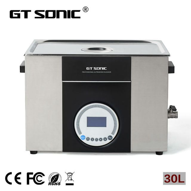 30L digital Ultrasonic cleaner used for labware ultrasonic cleaning equipment  GT SONIC-L30