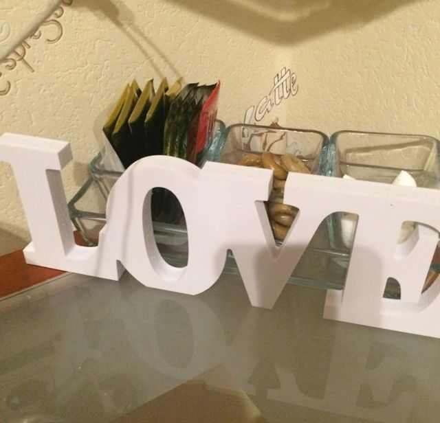 Free Shipping Decoration Wood Wooden Letter Alphabet Word Free Standing Wedding Part Birthday