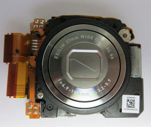 Original Zoom Lens Assembly Unit Replacement for Casio Z9
