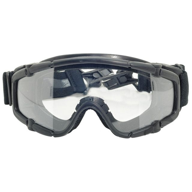 Snowboard Dustproof Sunglasses Motorcycle Ski Goggles Lens Frame Glasses Paintball Outdoor Sports Windproof Eyewear Glasses