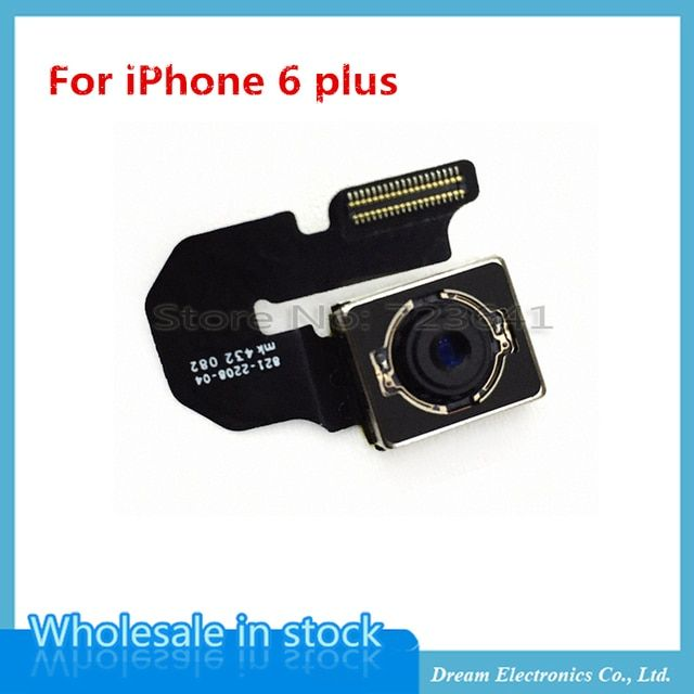 MXHOBIC 10pcs/lot High Quality Rear Facing Back Camera Flex Cable For iPhone 6 plus 5.5 Inch Repair Parts Free Shipping