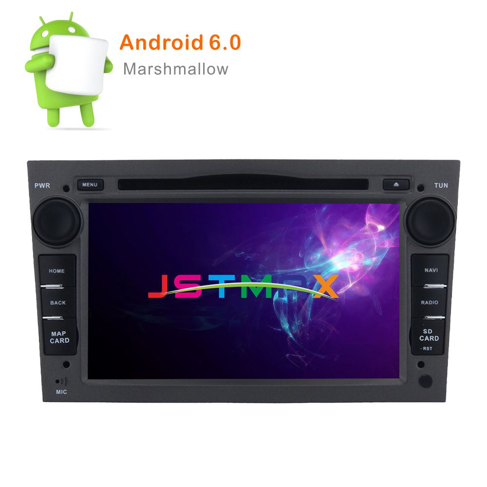 2 Din HD 1024X600 Octa Core 2Din Radio Car DVD Multimedia Player Fit Opel Vectra Corsa D Astra H Steering-Wheel Android Audio HD