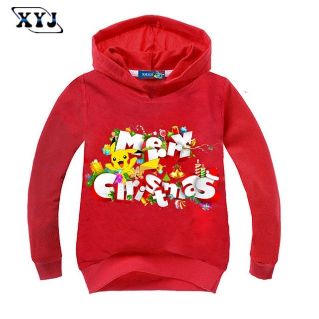 2016 Kids Hoodies For Girls Long Sleeve T-shirt For Boys Merry Christmas Printed Shirt For Baby Children Sweatshirt  For Baby