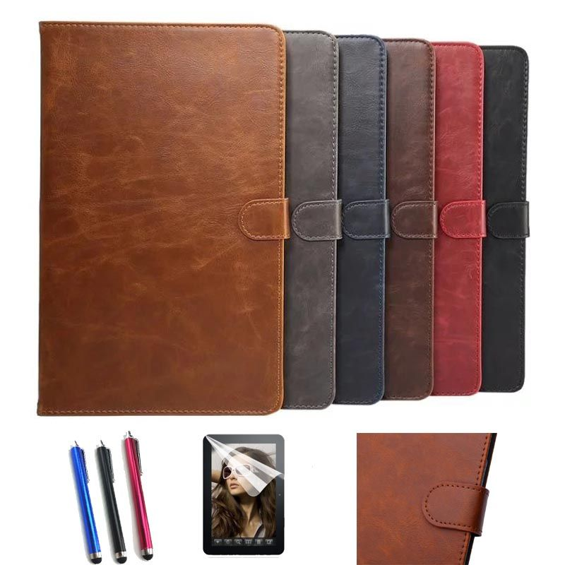 "film+stylus+ AORUIIKA New fashion stand Leather case cover for Samsung Galaxy Tab A6 A 10.1"" T580 T585 T585N tablet capa funda"