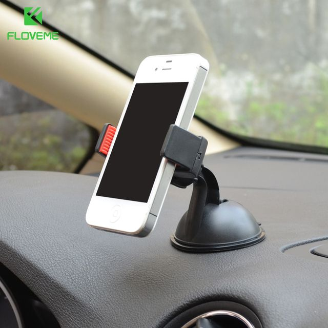 FLOVEME Car Phone Holder Navigate Case For iPhone 7 7 Plus For Samsung Galaxy S8 S7  Sucker Car Phone Holder in Car Accessories