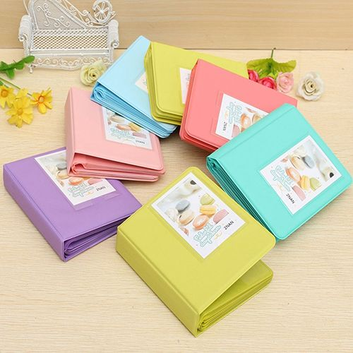 Candy Color Instant Picture Photo Album Case for Fuji Instax Mini 7s 8 25 50s 90