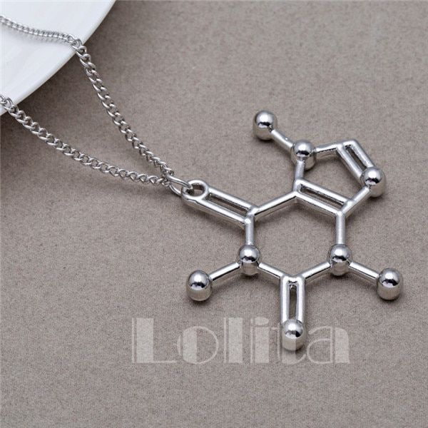Lolita Breaking Bad Molecular Addictions Caffeine Necklaces XL588