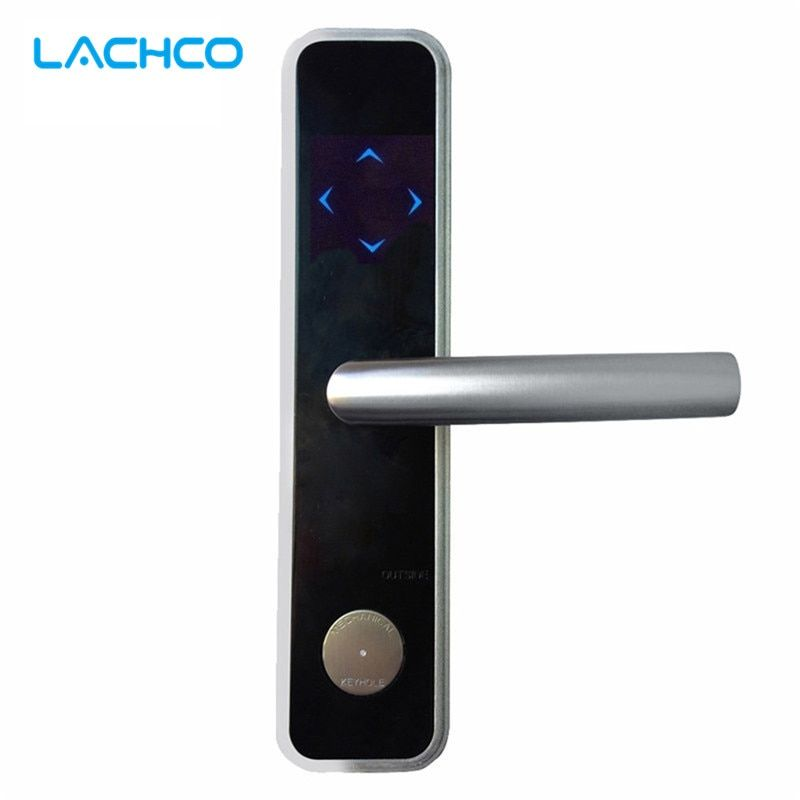 LACHCO Digital Card Door Lock Smart Electronic RFID Card Lock For Home Hotel Office Room  L16051BS