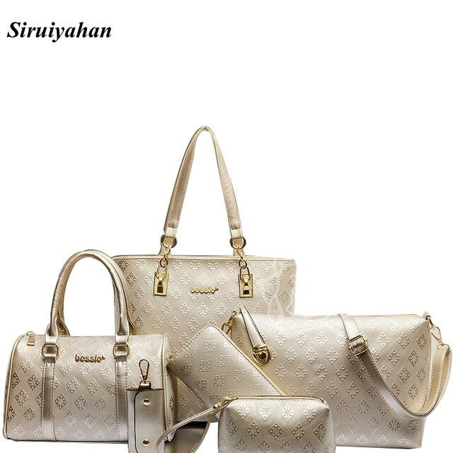 Siruiyahan Luxury Handbags Women Bags Designer Shoulder Bag Female Bags Handbags Women Famous Brands Bolsas Feminina Sac A Main