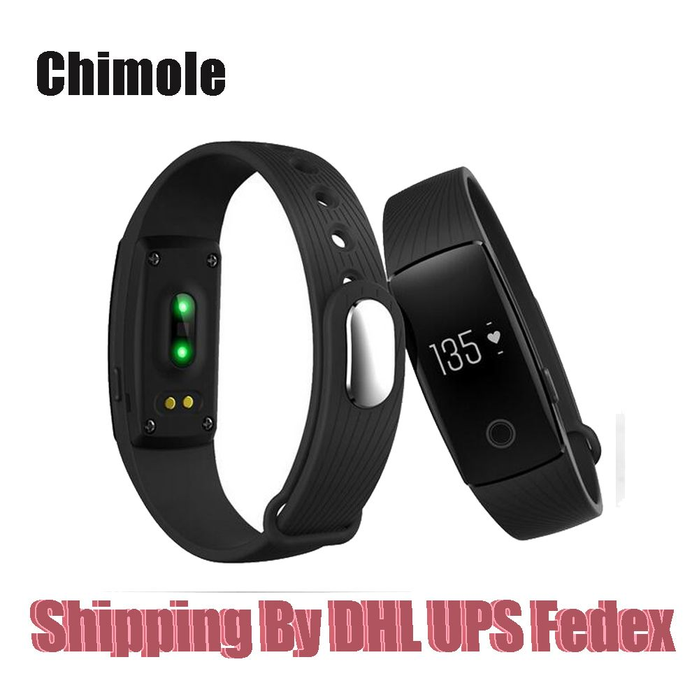 Original Fashion ID107 Bluetooth Smart Watch With Heart Rate Monitor Pedometer Remote Camera Function Waterproof Wristband