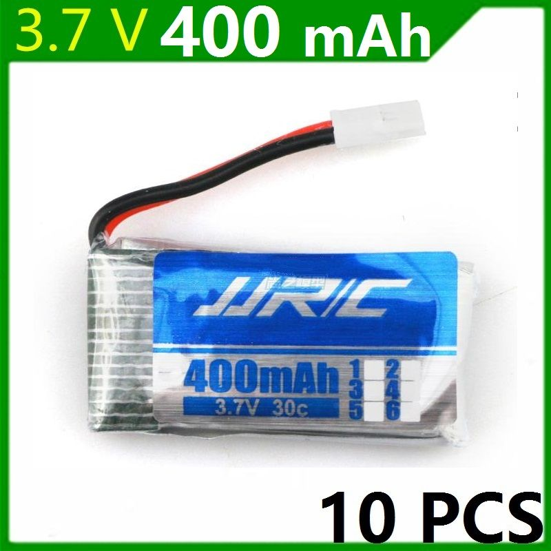 Original JJRC H31 Spare Parts 3.7V 400mah Original Battery H31-011 Lipo battery 3.7 V 400 mah For JJRC H31 XH plug 30C 10pcs/lot