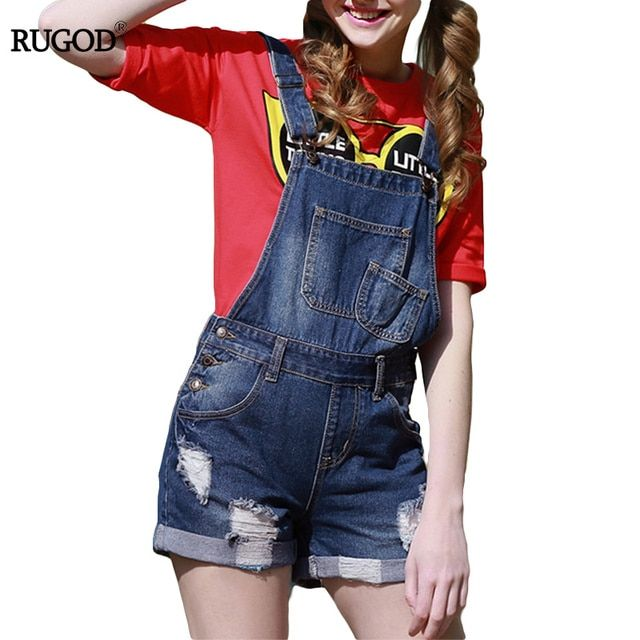 Rugod 2017 Summer Denim Skirt Shorts Women Pants Fashion Hole With Botton And Pockets Pantalones Cortos Mujer