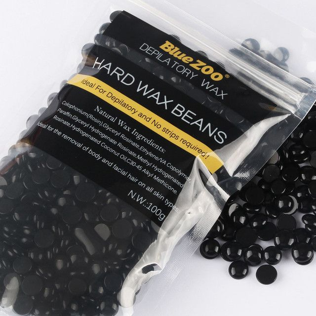 Best Deal New Black Hair removal cream Hair Removal Beans No Strip Depilatory Hot Film Hard Wax Pellet Waxing Bikini