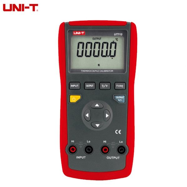 UNI-T UT713 USB Interface Digital Thermocouple Calibrator Process Calibrator Tester