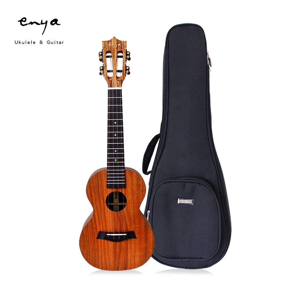 Enya EUC/T-X1 23 inch Concert Ukulele 26 inch Tenor Ukulele with Customized Pickup and other Ukulele Accessories