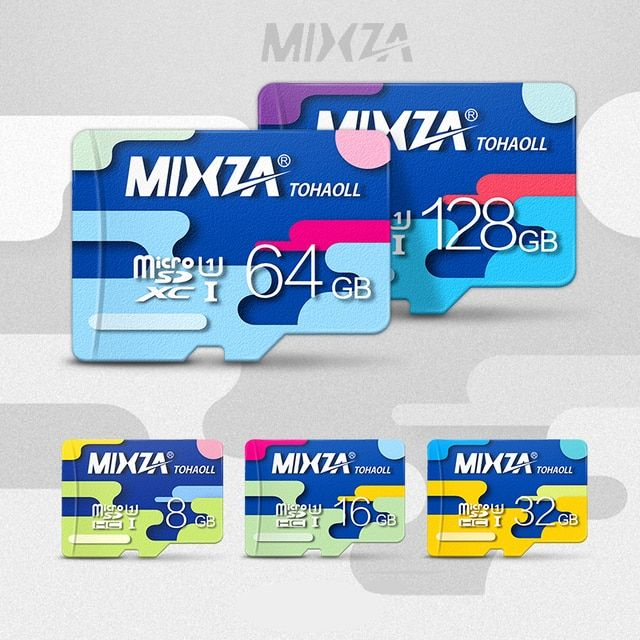 MIXZA Second generation memory card  128GB 64GB 32GB 16GB 8GB micro sd card  class10  flash card for Tablet/Smart Phone/Camera