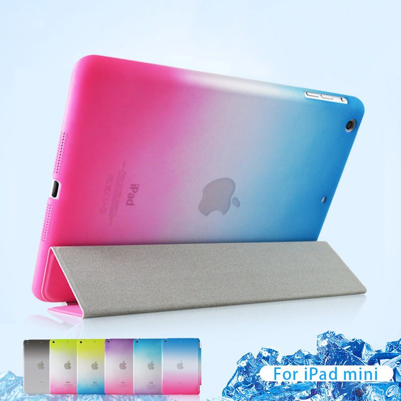For iPad Air 2 Air 1 For iPad Mini 2 3 Case Slim Smart Cover Magnetic Stand Leather Auto Wake Sleep Shell For iPad 4 3 2 Case