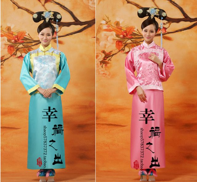 Hot Sale New Chinese Ancient Traditional Infanta Dramaturgic Costume Robe Dress!!! Free Shipping---Dr0015