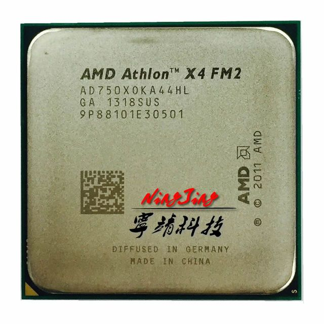 AMD Athlon II X4 750X 750 3.7G 65W AD750XOKA44HL Quad-Core CPU  Socket FM2