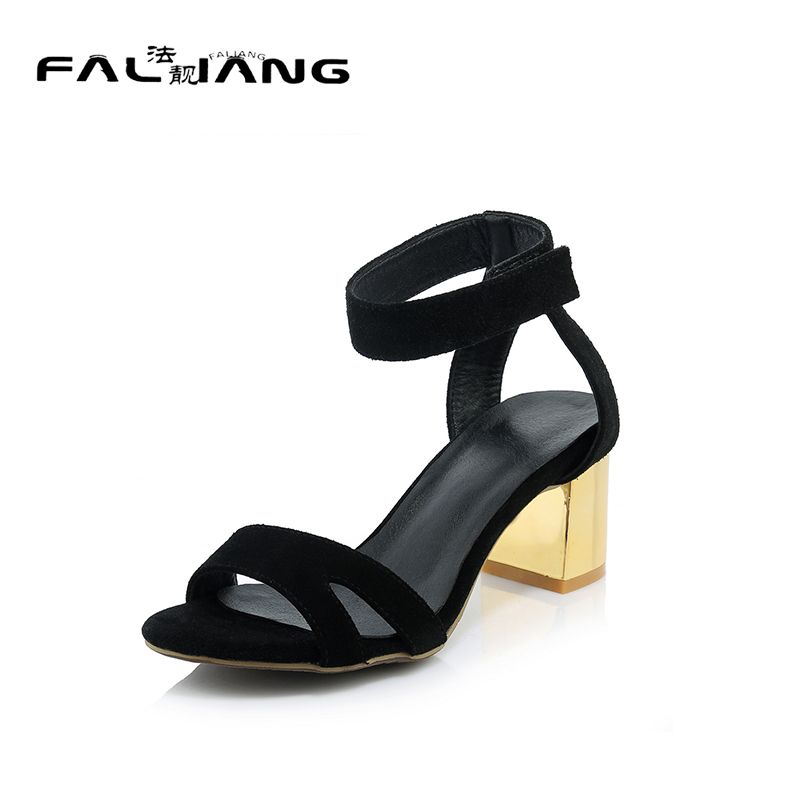 2017 Limited Rushed Mature Shoes Sapato Feminino Dames Schoenen Genuine Big Size Square Heel Women Shoes Woman Ladies Womens