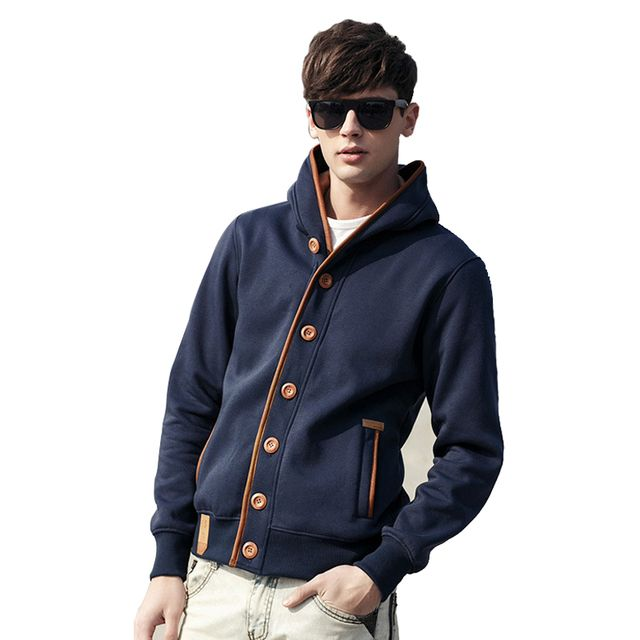 2018 Fashion ManHoodie Sweatshirt Zipper Cardigan Hoodies Sweatshirt Long Sleeves Male Tracksuit Moleton Masculina 4XL 5XL 25