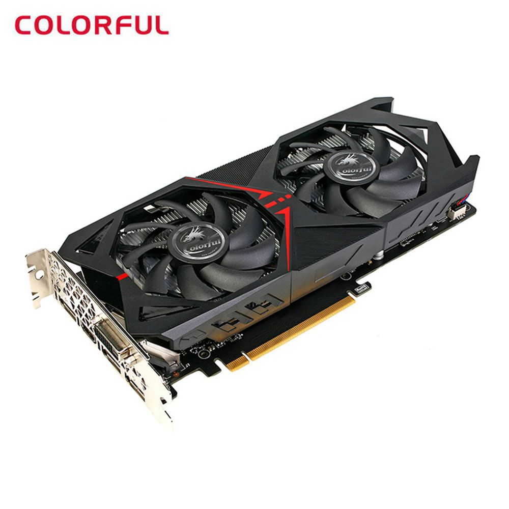 Colorful NVIDIA GeForce GTX 1060 6G Video Graphics Card GDDR5 1506MHz 16nm 192bit PCI Express 3.0