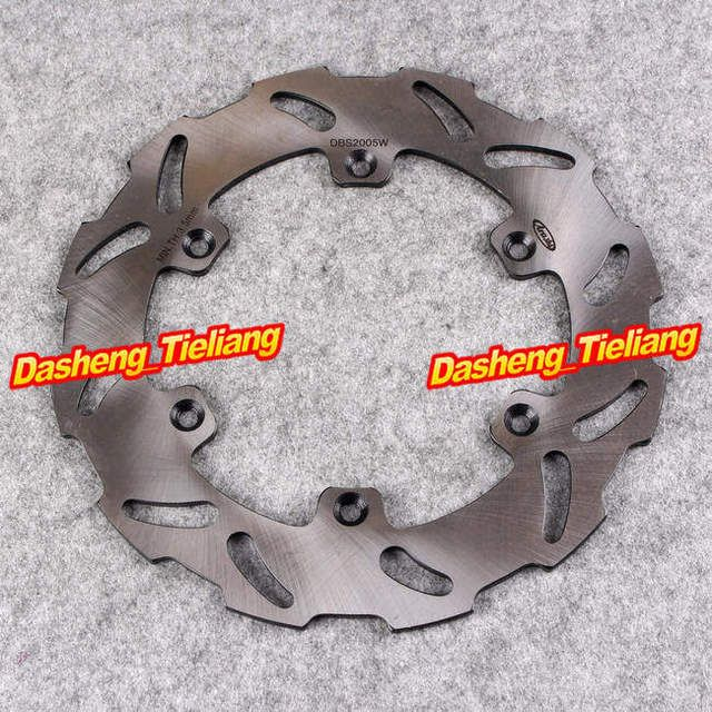 Steel Rear Brake Disc Rotor For Suzuki RM 125 250 1989-1990 /RMX 250S 1992-1998 /DRZ 400 400E 400S, Motorcycle Parts