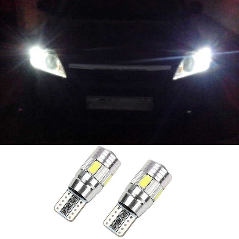 For Lada Granta Vaz Kalina 2 Priora Niva Samara 2110 Largus 2109 2107 2106 4x4 Canbus Car 5630 SMD T10 W5W LED Clearance Light